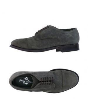 Обувь на шнурках ANDREA VENTURA FIRENZE. Цвет: зеленый