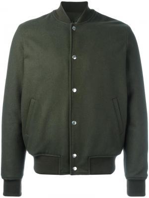 Куртка Marcus Harmony Paris. Цвет: зелёный