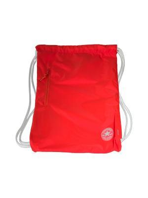 Рюкзак Cinch Converse. Цвет: оранжевый