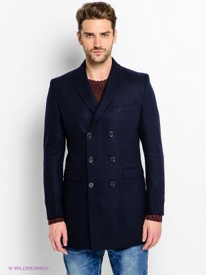 Пальто Jack&Jones. Цвет: темно-синий