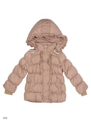 Куртка Cherche. Цвет: светло-бежевый