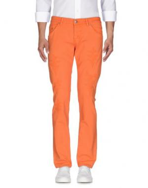 Джинсовые брюки DONDUP. Цвет: оранжевый