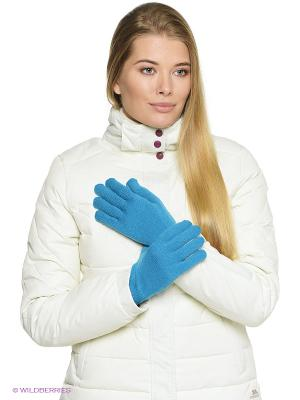 Перчатки RIB GLOVE Jack Wolfskin. Цвет: голубой