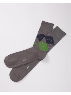 Носки Mark Formelle. Цвет: серый