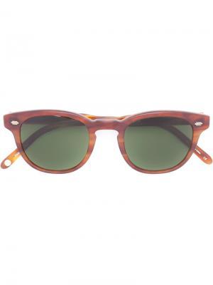 Солнцезащитные очки Warren Garrett Leight. Цвет: коричневый