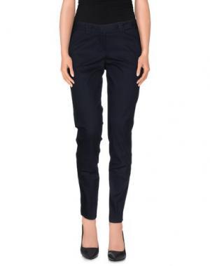 Повседневные брюки HOPE COLLECTION. Цвет: темно-синий