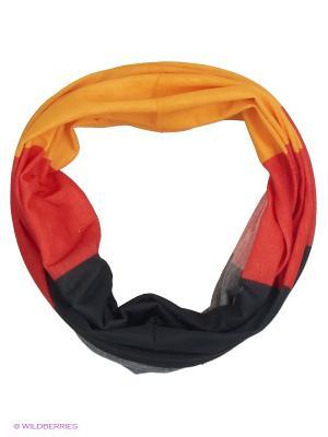 Мультишарф ARFUGIX. Цвет: красный, желтый, черный