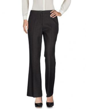 Повседневные брюки YANG LI. Цвет: свинцово-серый