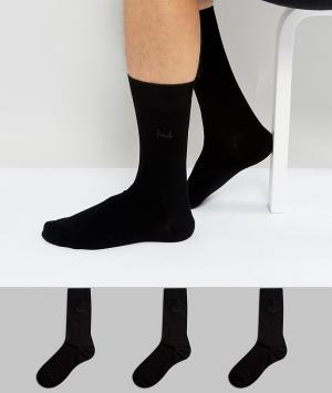 Pringle Комплект из 3 носков Endrick. Цвет: черный