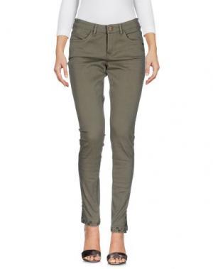 Джинсовые брюки MAISON SCOTCH. Цвет: зеленый-милитари
