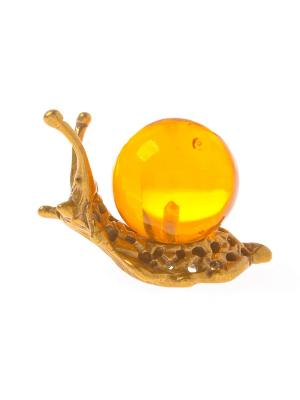 Фигура Улитка Aztek. Цвет: желтый, коричневый, светло-оранжевый