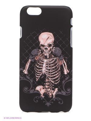 Чехол для iphone 6 WB. Цвет: черный, бледно-розовый