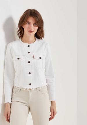 Куртка джинсовая Levis® Levi's®. Цвет: белый