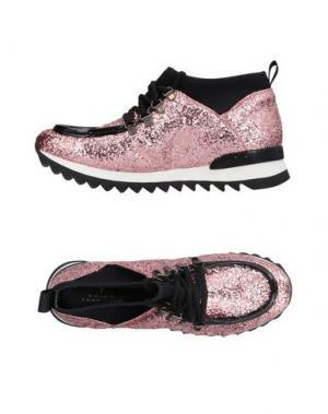 Высокие кеды и кроссовки GUIDO SGARIGLIA. Цвет: пастельно-розовый