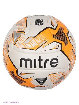 Мяч футбольный MITRE DELTA FIFA Approved. Цвет: оранжевый, белый, черный