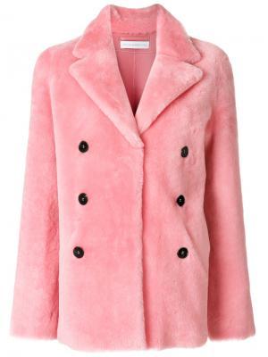 Barbara coat Inès & Maréchal. Цвет: розовый и фиолетовый