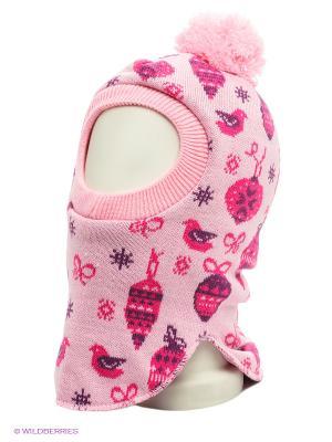 Капор Maxval. Цвет: бледно-розовый, розовый, фиолетовый