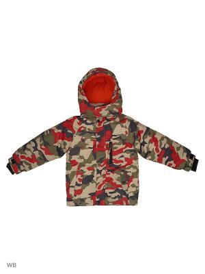 Куртка для мальчика дошк. гр. Knot so bad. Цвет: красный