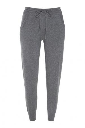 Кашемировые брюки Mixer. Цвет: серый