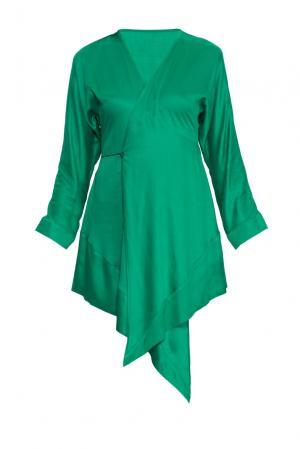 Платье 156184 A-anika. Цвет: зеленый