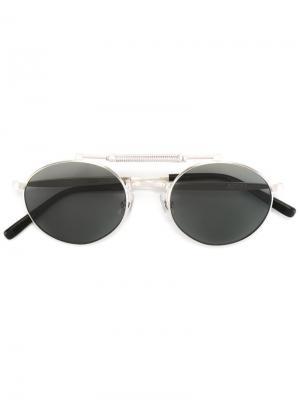 Солнцезащитные очки Heritage Collection Matsuda. Цвет: металлический