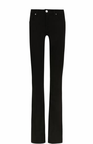 Однотонные расклешенные джинсы Victoria, Victoria Beckham. Цвет: черный