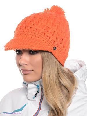 Шапка CMP. Цвет: оранжевый