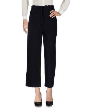 Повседневные брюки SARA LANZI. Цвет: темно-синий