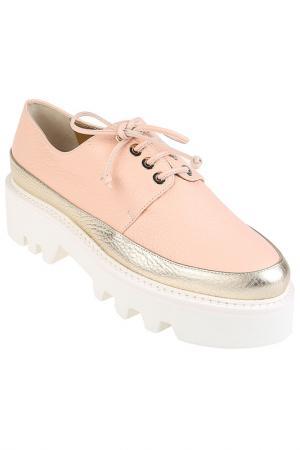 Ботинки Walter Steiger. Цвет: розовый