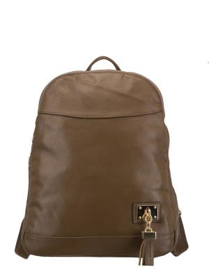Рюкзак женский Sara. Цвет: светло-коричневый
