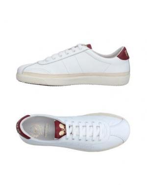 Низкие кеды и кроссовки PANTOFOLA D'ORO. Цвет: белый