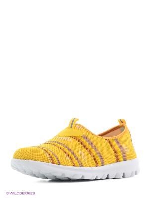 Кроссовки Covani. Цвет: желтый