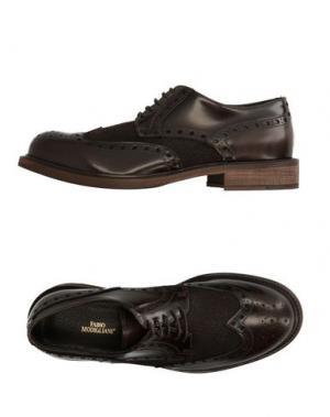 Обувь на шнурках FABIO MODIGLIANI. Цвет: темно-коричневый
