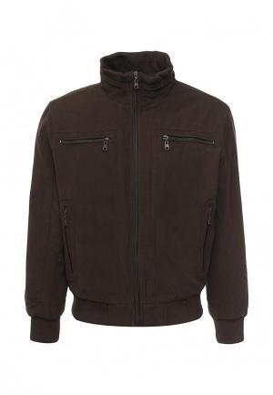 Куртка утепленная Vanzeer. Цвет: коричневый
