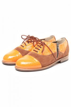 Ботинки Bouton. Цвет: оранжевый