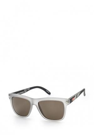 Очки солнцезащитные Roxy. Цвет: серый