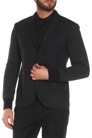 Полуприлегающая куртка с застежкой на пуговицы Neil Barrett. Цвет: темно-серый