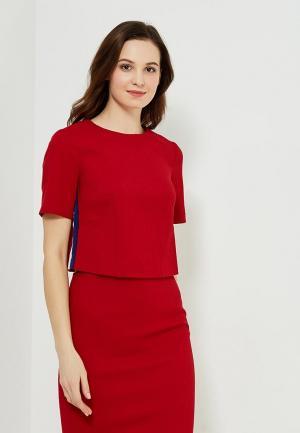 Блуза Ruxara. Цвет: красный