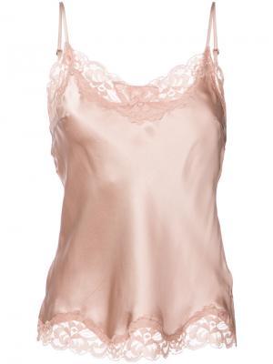 Lace trim camisole Gold Hawk. Цвет: розовый и фиолетовый