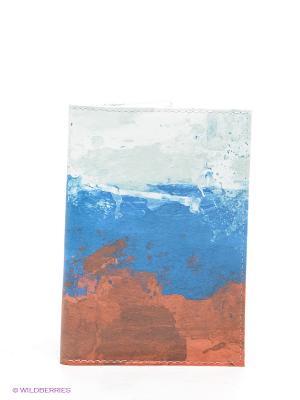 Обложка Mitya Veselkov. Цвет: синий, терракотовый, белый