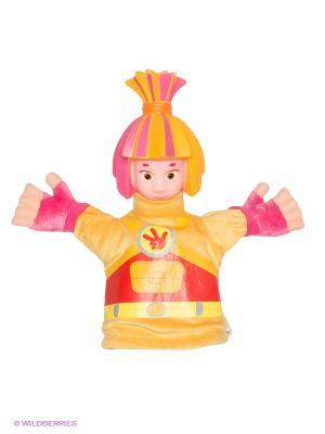 Мягкая игрушка Симка Мульти-пульти. Цвет: желтый, розовый