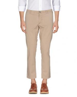 Повседневные брюки ALESSANDRO DELL'ACQUA. Цвет: бежевый