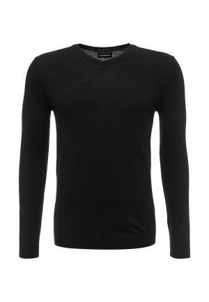 Пуловер Sisley. Цвет: черный