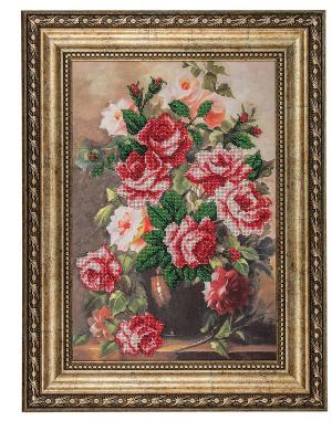 Набор для вышивания Розовая элегия Матренин Посад. Цвет: розовый