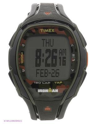 Часы TIMEX. Цвет: антрацитовый