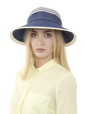 Шляпа Gusachi. Цвет: голубой, белый