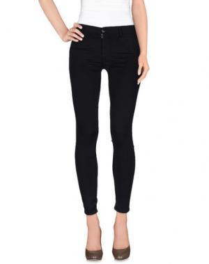 Повседневные брюки KAOS JEANS. Цвет: темно-синий