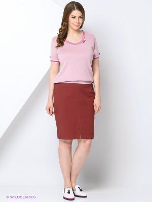 Джемпер KTF Collection. Цвет: розовый