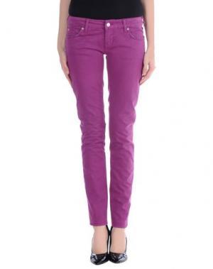 Повседневные брюки ZU+ELEMENTS. Цвет: светло-фиолетовый