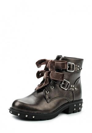 Ботинки Anesia. Цвет: коричневый